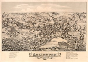 Historic Map of Arlington